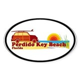 Perdido Key FL Oval Decal