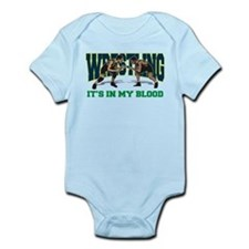 Wrestling It's In My Blood Onesie