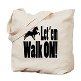 Walking horses Tote Bag