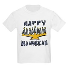 Happy Hanukkah Kids T-Shirt