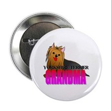 "Yorkshire Terrier 2.25"" Button"
