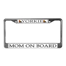 Yorkshire Terrier License Plate Frame