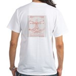 Da Vinci Jeremy White T-Shirt