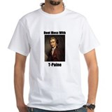 """Dont Mess With T-Paine"" White Tee"