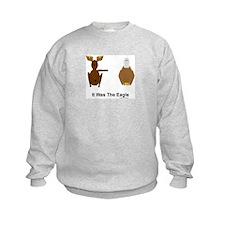 Moose Blames Eagle Sweatshirt