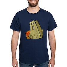 tofu man - fancy colored t-shirt
