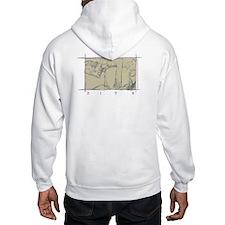 Jeremy Box Logo Hooded Sweatshirt