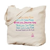 Yogagurl Mantra Tote Bag