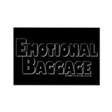 Emotional Baggage Rectangle Magnet (100 pack)