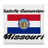 Sainte Genevieve Missouri Tile Coaster