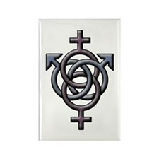 Swingers Symbol Rectangle Magnet (100 pack)