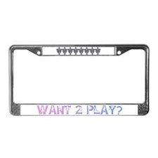 Swingers Symbol License Plate Frame