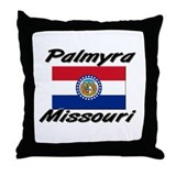 Palmyra Missouri Throw Pillow