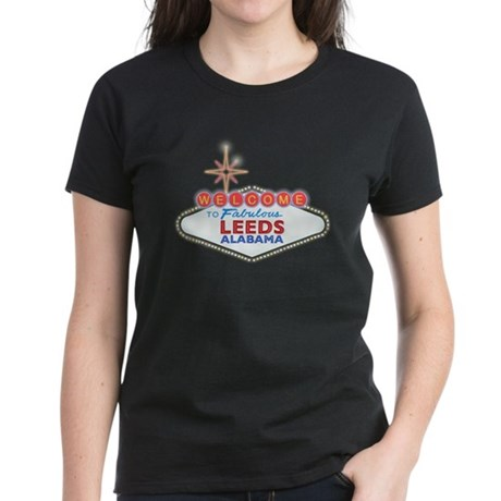 Fabulous Leeds Women's Dark T-Shirt