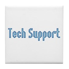 Tech Support Tile Coaster