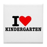 Kindergarten Tile Coaster