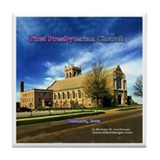 First Presbyterian Church Tile Coaster