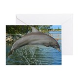 Jumping Dolphin Greeting Card