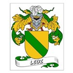 Leoz Coat of Arms Small Poster