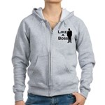 Like a Boss Women's Zip Hoodie