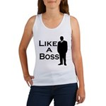 Like a Boss Women's Tank Top