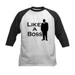 Like a Boss Kids Baseball Jersey