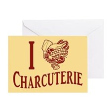 I Love Charcuterie Greeting Card