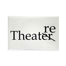 Theatre Rectangle Magnet