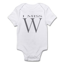 I Miss W Infant Bodysuit