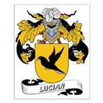 Lucian Coat of Arms Small Poster