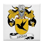 Lucian Coat of Arms Tile Coaster