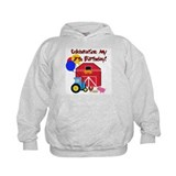 Farm 7th Birthday Hoodie