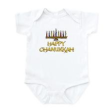 Happy Chanukkah Infant Creeper