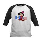 Guatemala Girl Kids Baseball Jersey