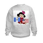 Guatemala Girl Kids Sweatshirt
