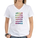RBW Fingerspelled ABC Women's V-Neck T-Shirt