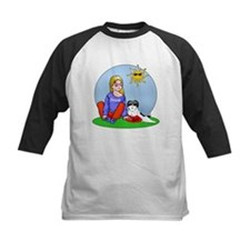 Personalized Girl & Shih Tzu Tee
