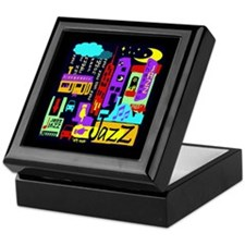 Jazz Nights Keepsake Box