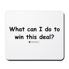 What can I do? Mousepad