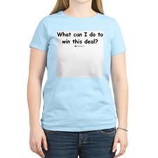 What can I do? Women's Pink T-Shirt