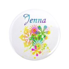 "Jenna 3.5"" Button"