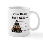Four Basic Food Groups Mug
