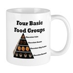 Four Basic Food Groups Mug