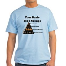 Four Basic Food Groups T-Shirt