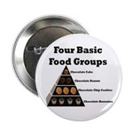 "Four Basic Food Groups 2.25"" Button"