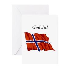 Norwegian Flag Christmas Cards