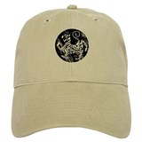 vintage shotokan karate tiger Baseball Cap