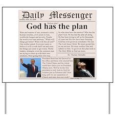 Christian newspaper Yard Sign