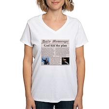 Women's V-Neck Christian T-Shirt