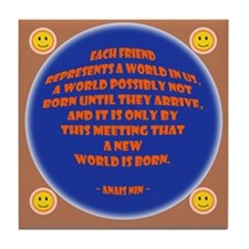 Each Friend Tile Coaster